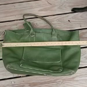 Cole Haan leather tote bag